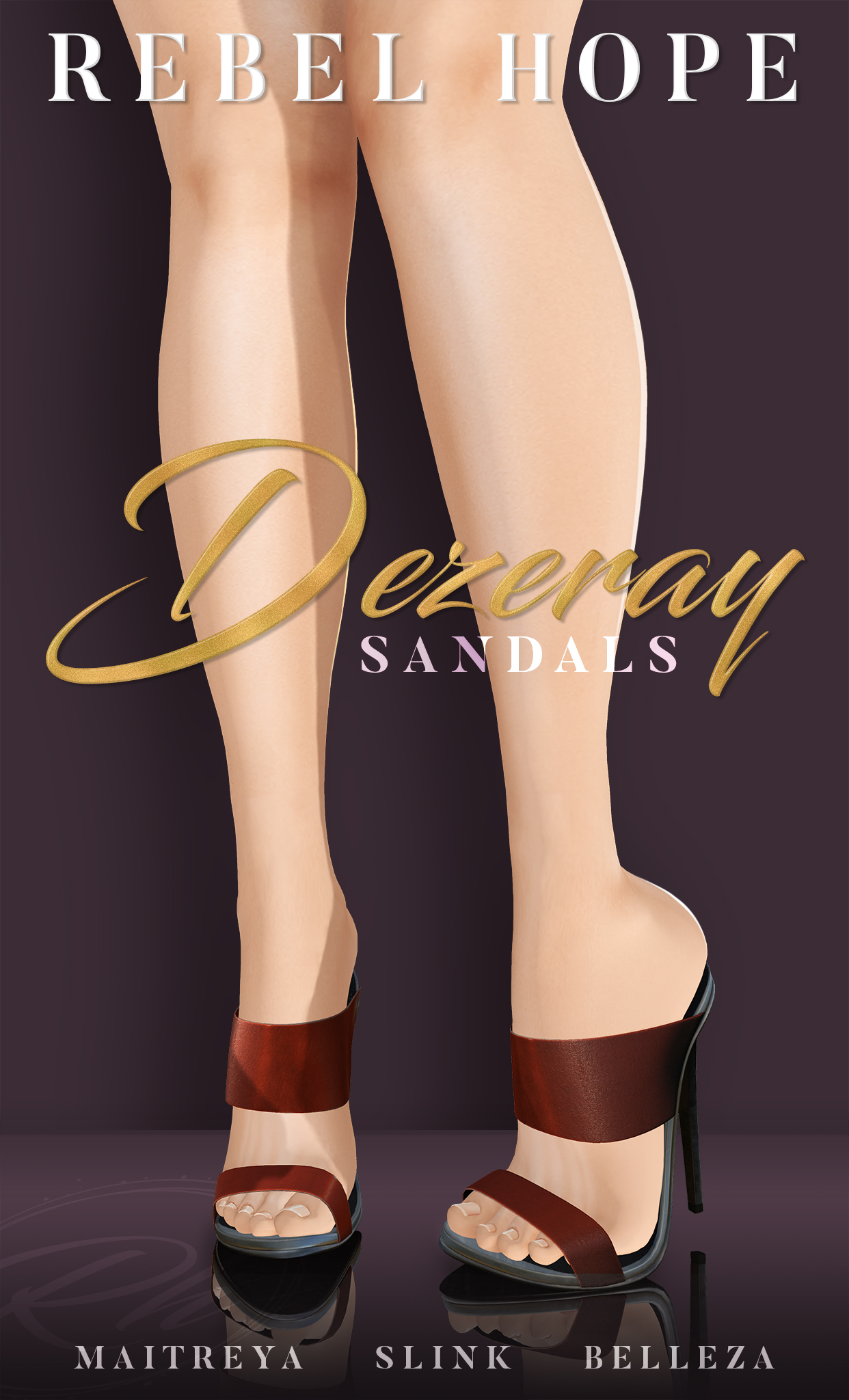 Rebel Hope - Dezeray Sandals