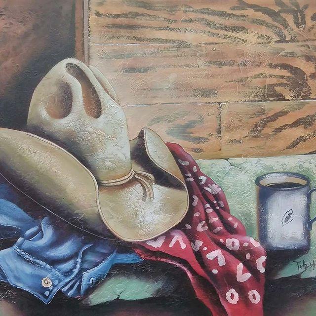 #painting #art #cowboy