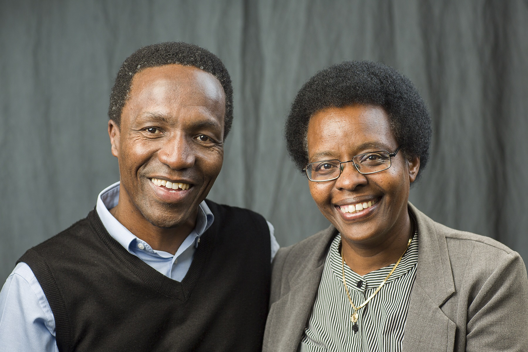 Mutua and Stephani Mahiaini