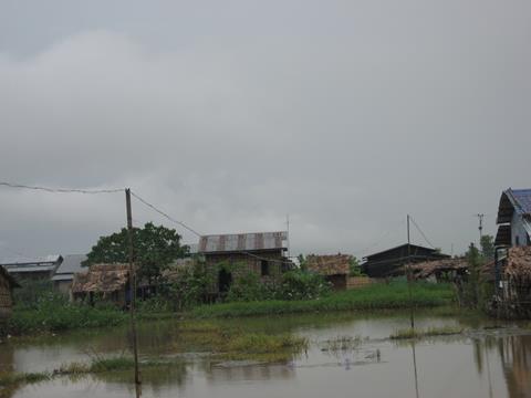 A Storm Ravaged Myanmar Village