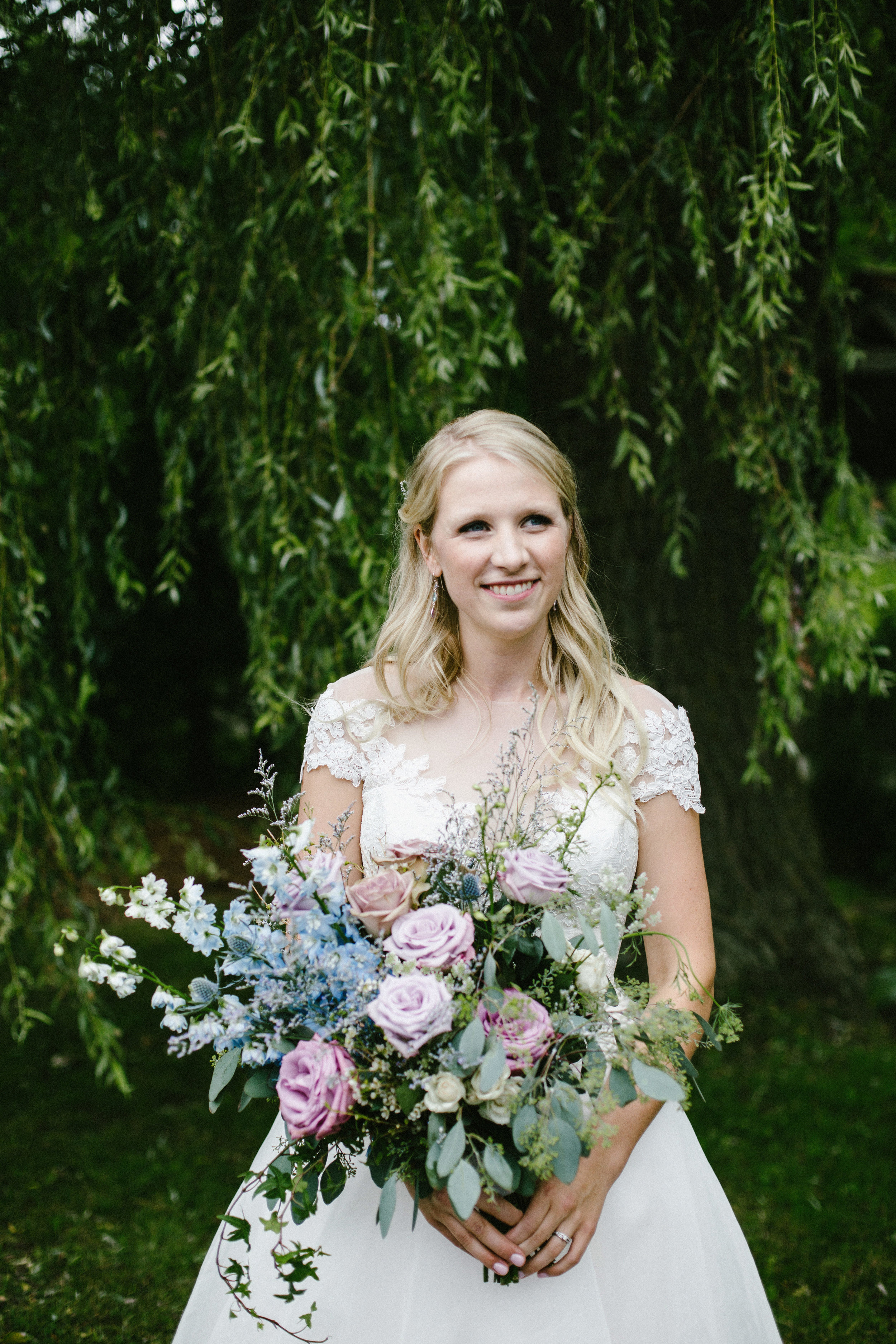 Bride and Bouquet Photo