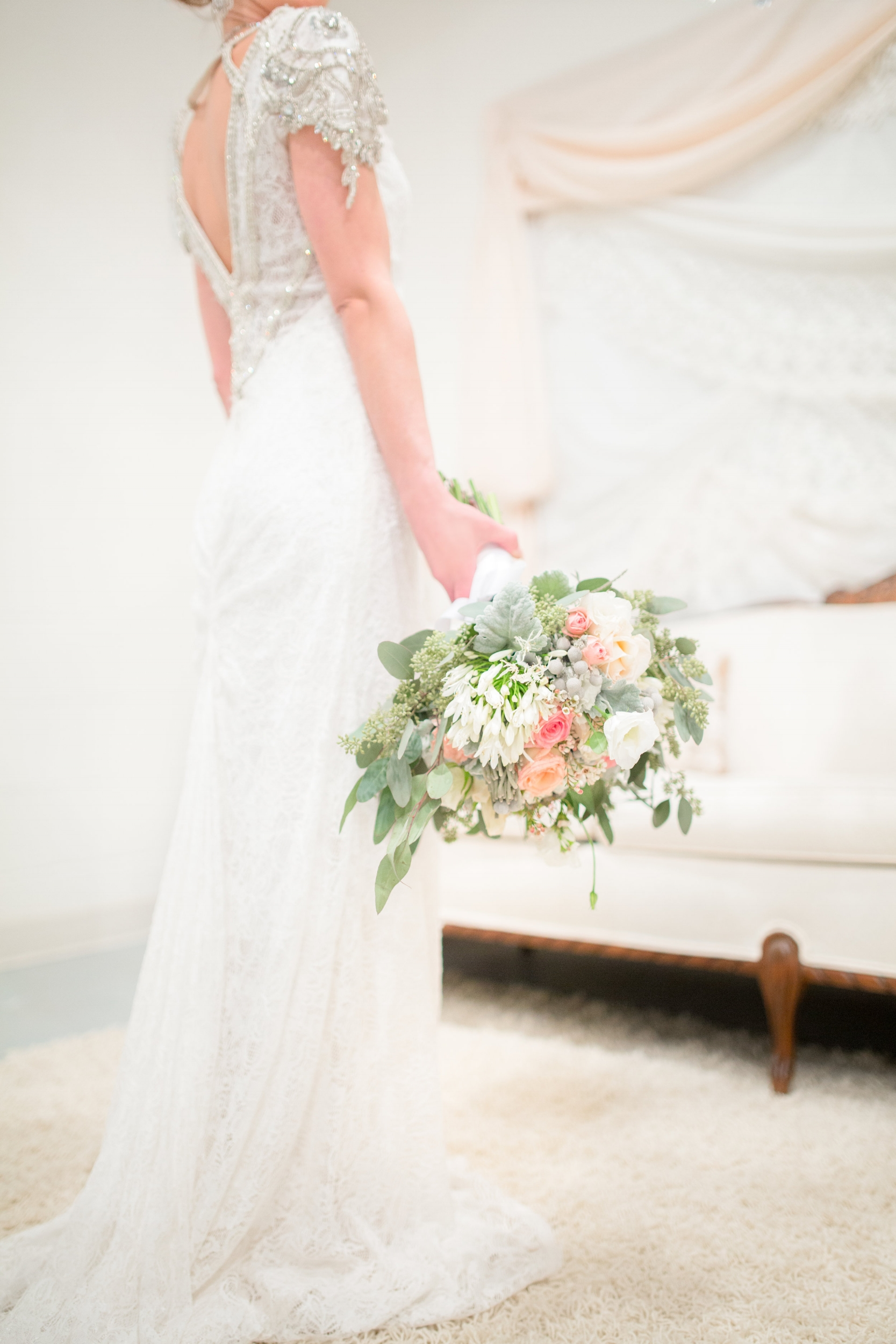 Blush Bride's Bouquet