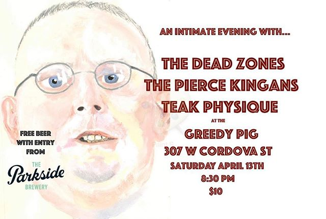 This is going to be all kinds of nuts. PEAnuts, LUGnuts, CORNnuts.... RANCH corn nuts AND you get a free beer just for walking in the door courtesy of Anthony's other band, @parksidebrewery  Don't miss it!  #vancouver #vancouvermusic #guitarmusic #psych #psychmusic #beer #freebeer #garagerock #satan #cornnuts #cornnutsranch #livemusic #rockandroll