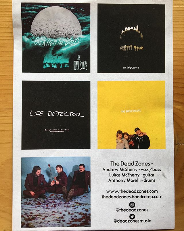 We've got some neat treats for you but you gotta come to @sbcrestaurant tomorrow night to get 'em!!!! @lazyghostband will be there!