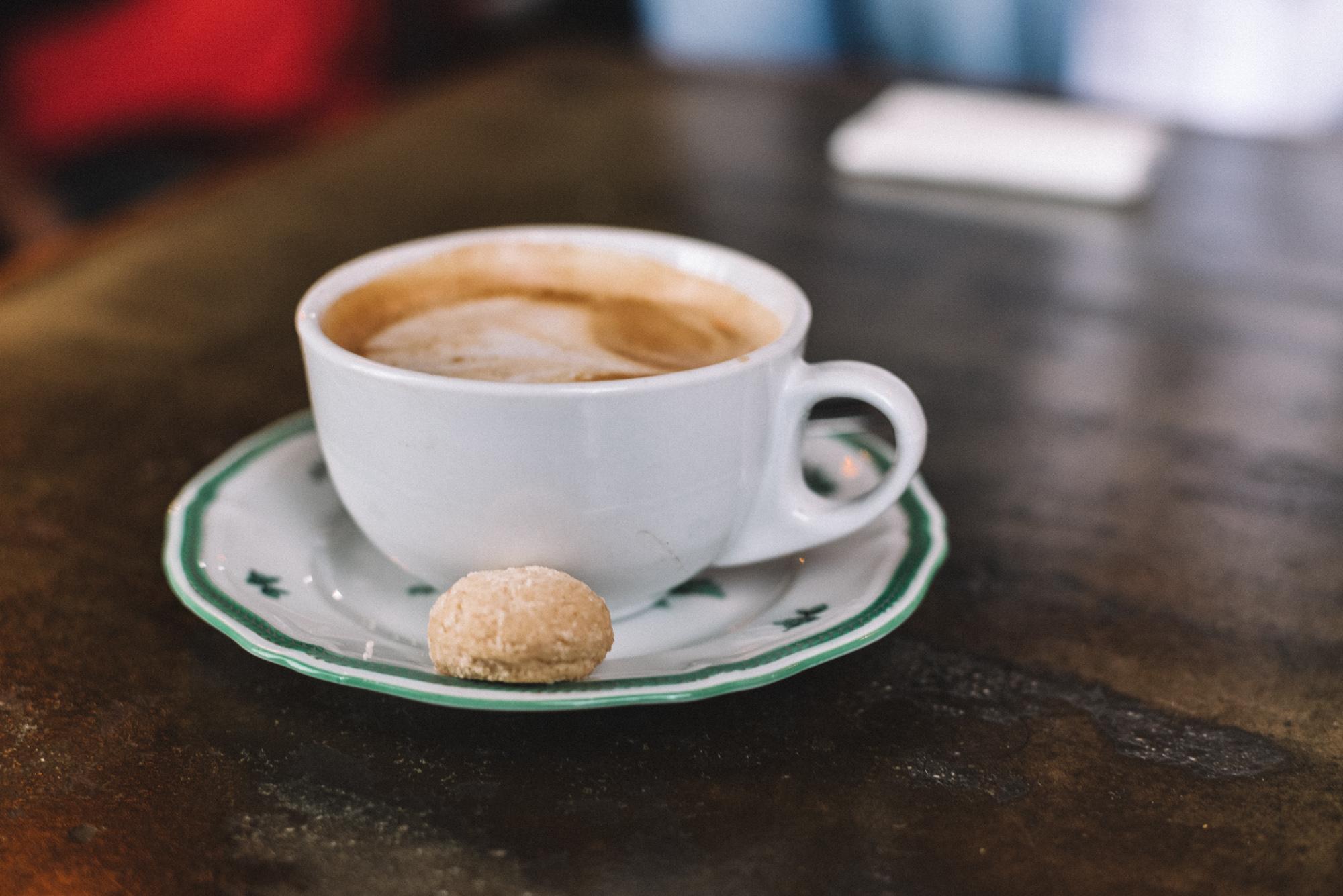El clásico cafecito de cordialito....