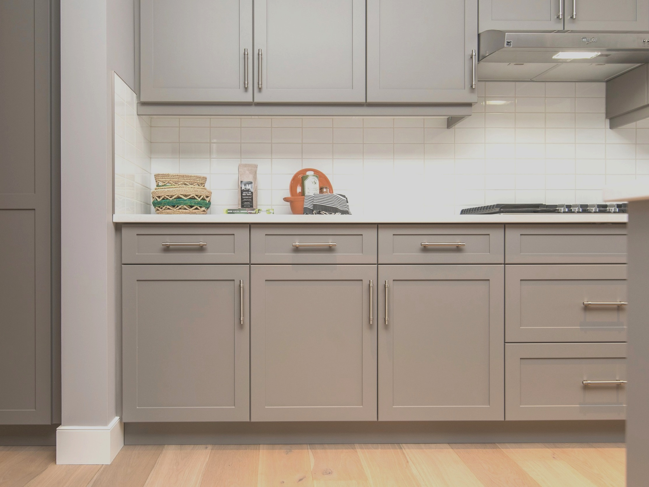 We help homeowners design their dream kitchen and bathrooms. -