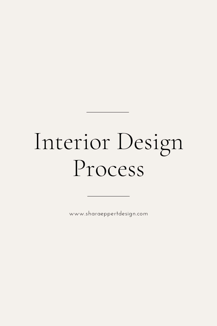 Interior Design Process | Shara Eppert Design is an Interior Design studio located in Fort Walton Beach, FL - Coastal Design