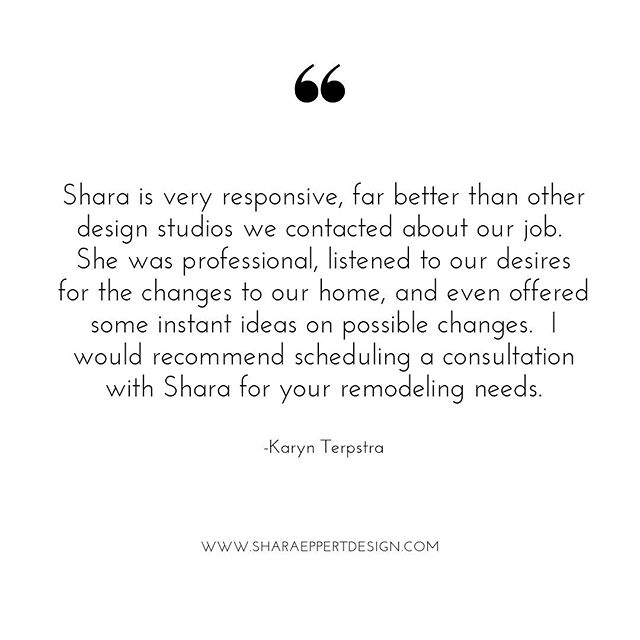 I'm grateful for every client that takes the time to write a review. I have the best clients! #happyclient #testimonial #clientreview  #santarosabeach #sharaeppertdesign #lovewhatido