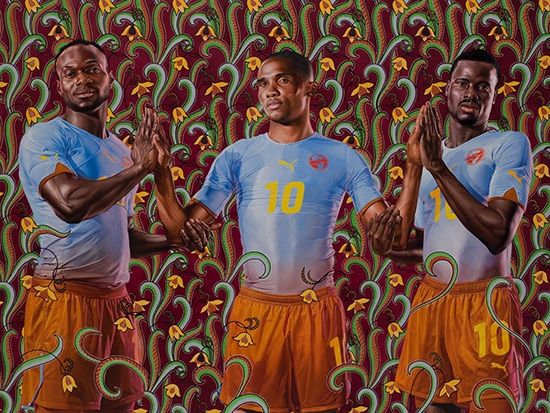 Kehinde Wiley - Cameroon