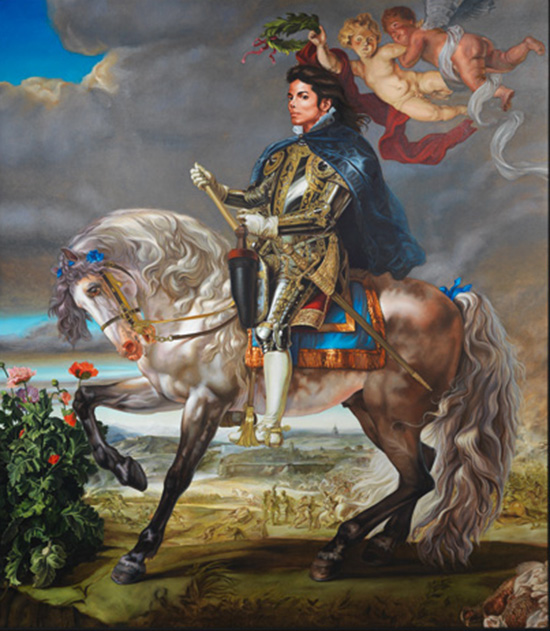 Kehinde Wiley - Micheal Jackson