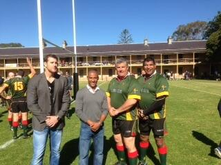 Ben Roberts Smith VC, George Gregan , Murray Harley and Jim Williams