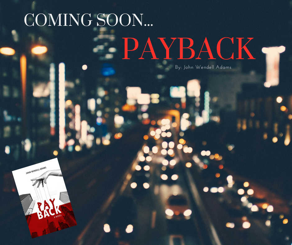 - My new book, Payback, is set to release March 29, 2018!Keep reading to find out what's in store for Jack Alexander in this sequel to