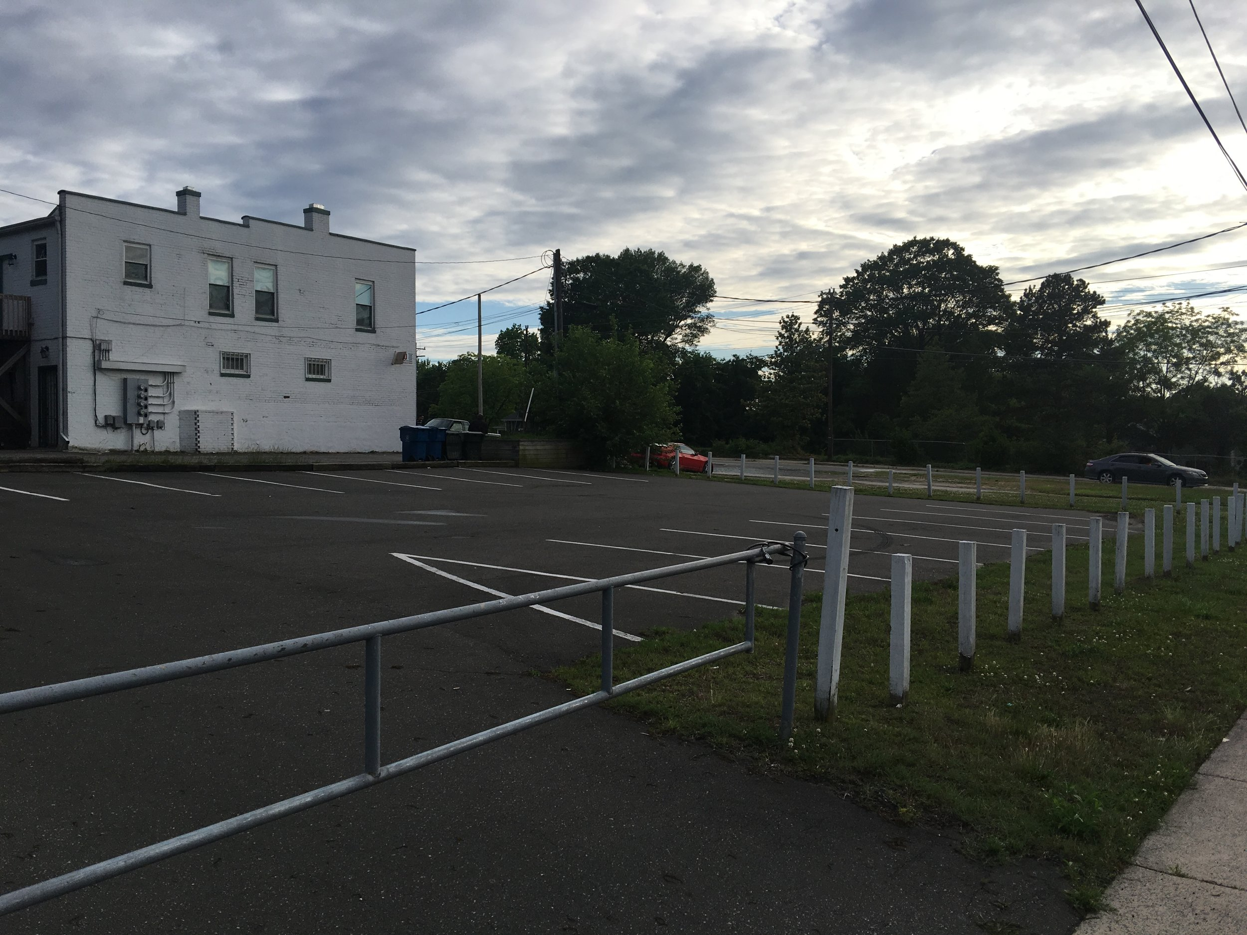 Parking lot 1/3 for Mount Vernon Baptist Church.