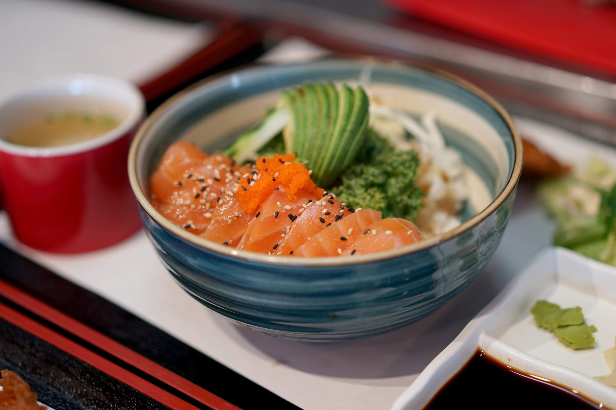 Salmon Sashimi Bowl