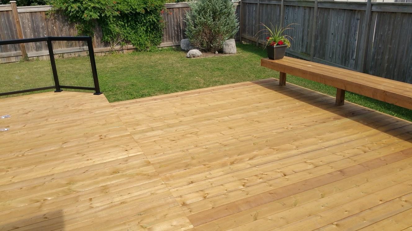 Wood Decking — Dains Lumber