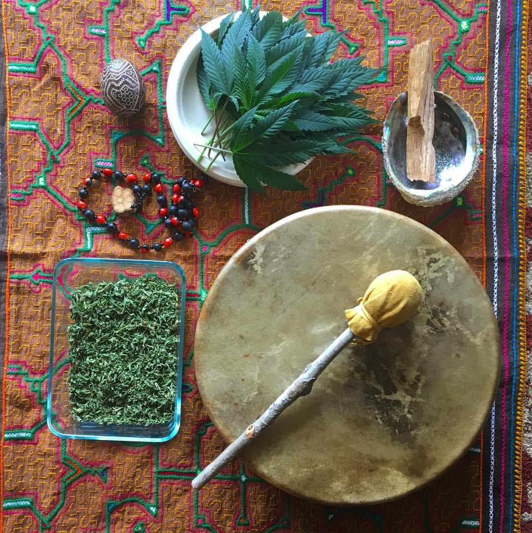 Ganjasana:  Cannabis Plant Spirit Ceremony