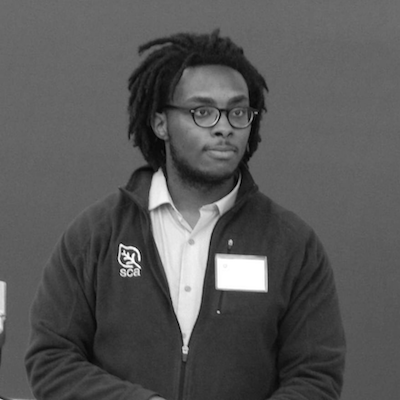 Adam McNeil    Adam McNeil  is a first year PhD student in History focusing on Black Women's Intellectual History at the University of Delaware and host of  New Books in African American Studies .