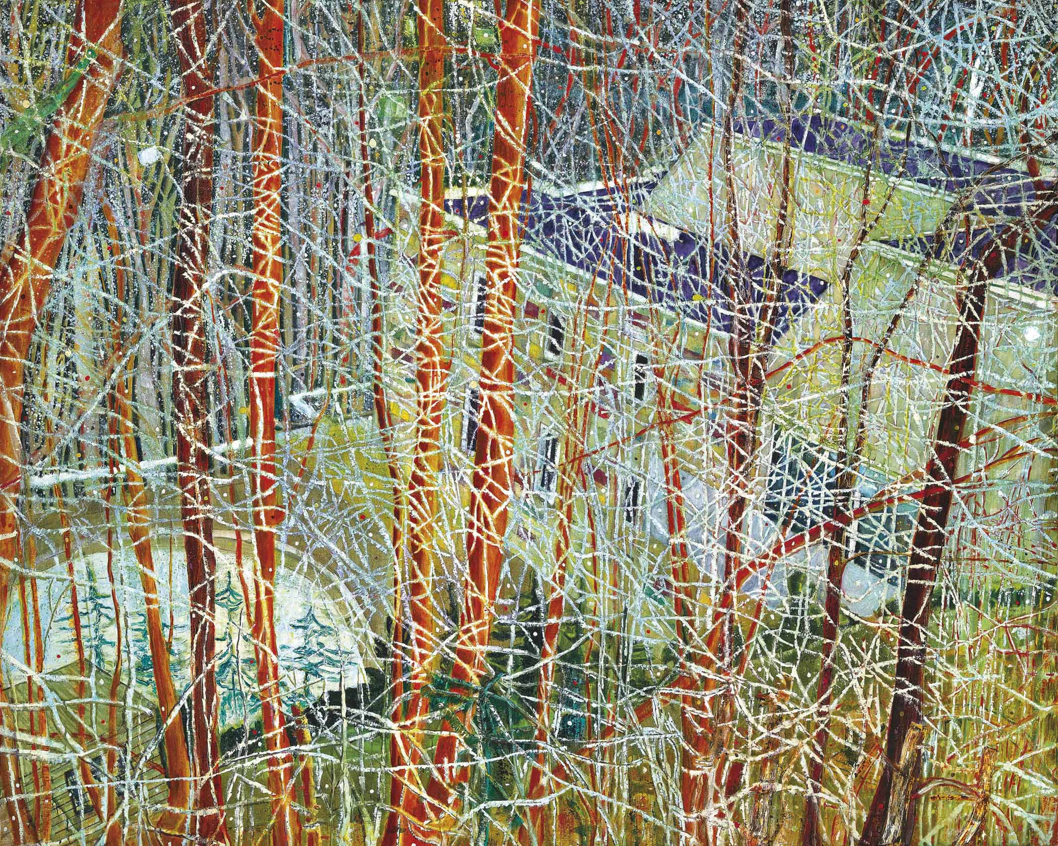 Peter Doig, Architect's Home in the Ravine  Saatchi Gallery, 1991