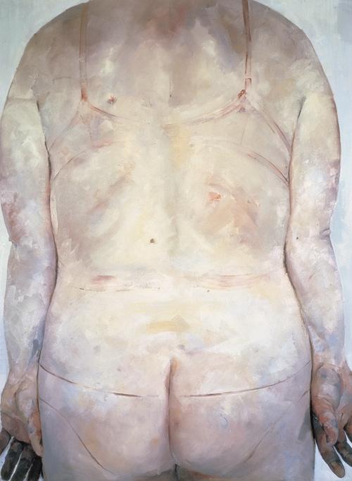 Trace , Jenny Saville Saatchi Gallery, 1993 - 1994