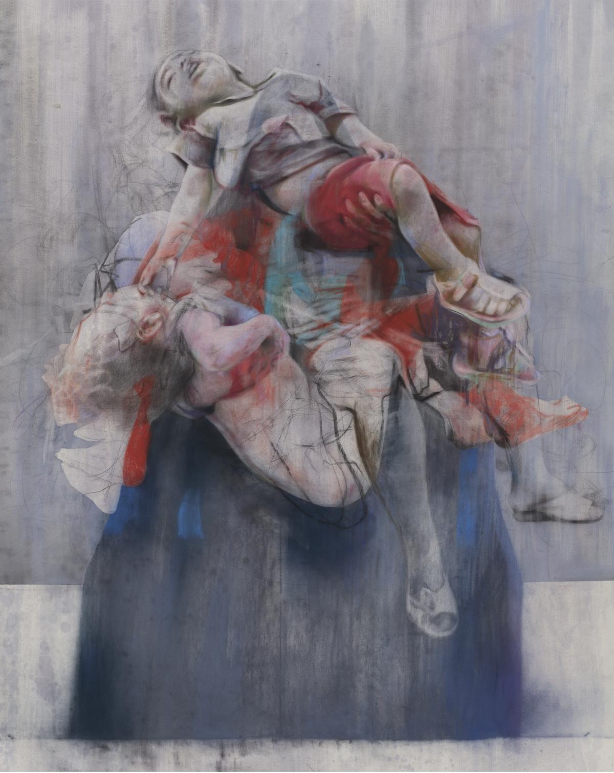 Aleppo , Jenny Saville 2017 - 2018