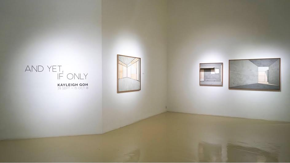 And Yet, If Only , Kayleigh Goh 2018, Installation View at Gajah Gallery