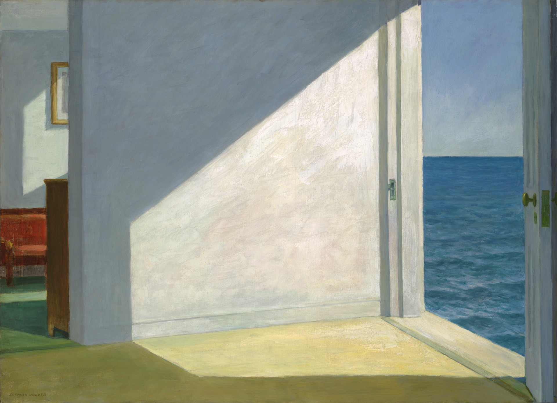 Rooms By The Sea , Edward Hopper Yale University Art Gallery, 1951