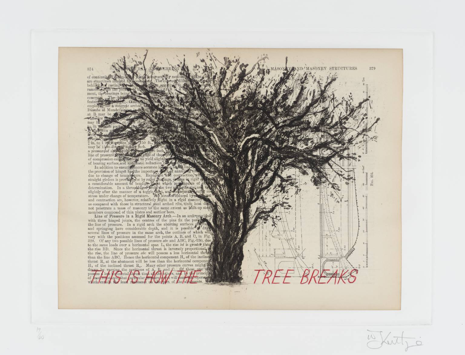 This Is How The Tree Breaks,  William Kentridge Tate, 1999
