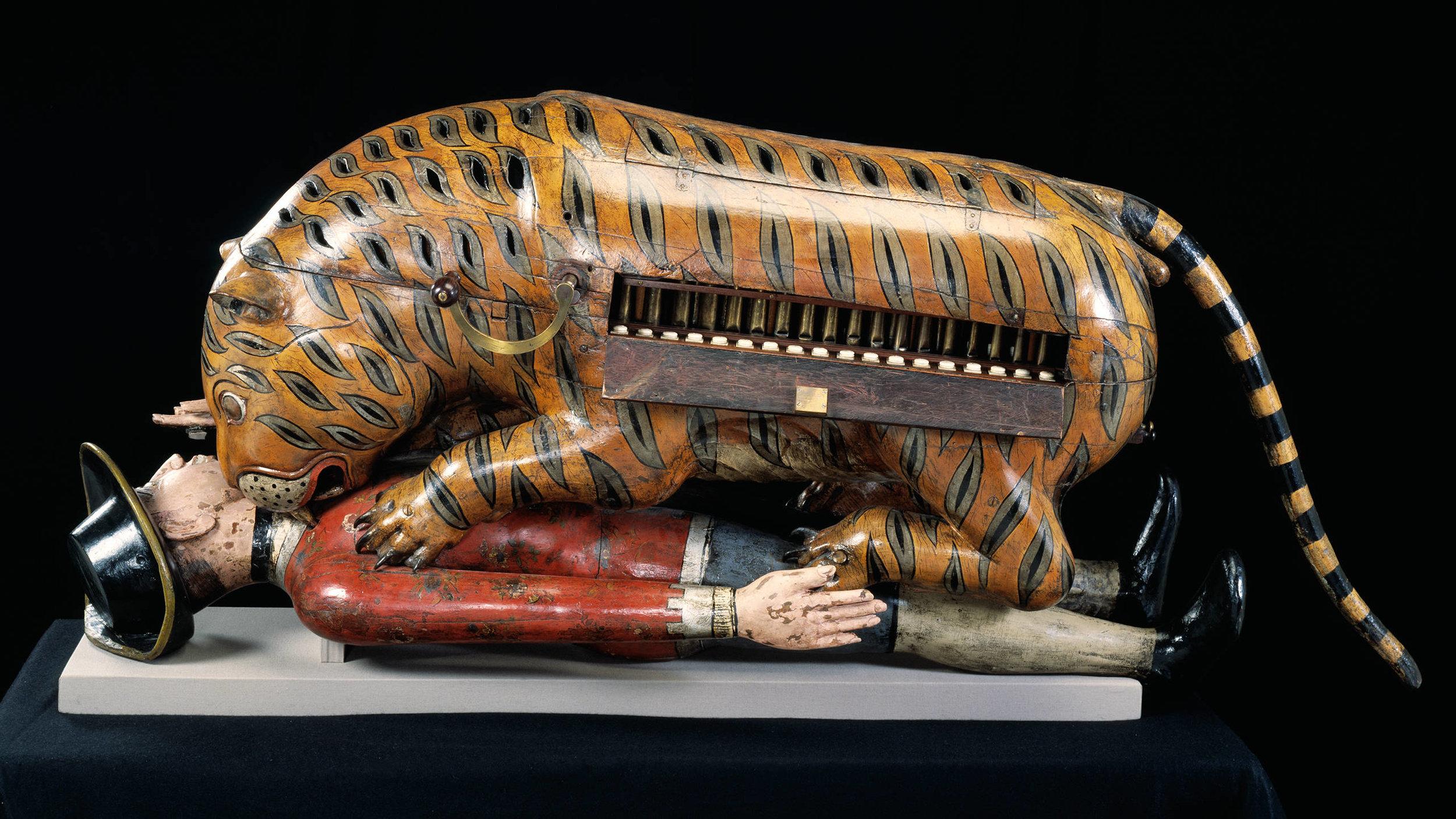 Tipu's Tiger  Mysore, c. 1780s - 1790s  Credit: Victoria & Albert Museum