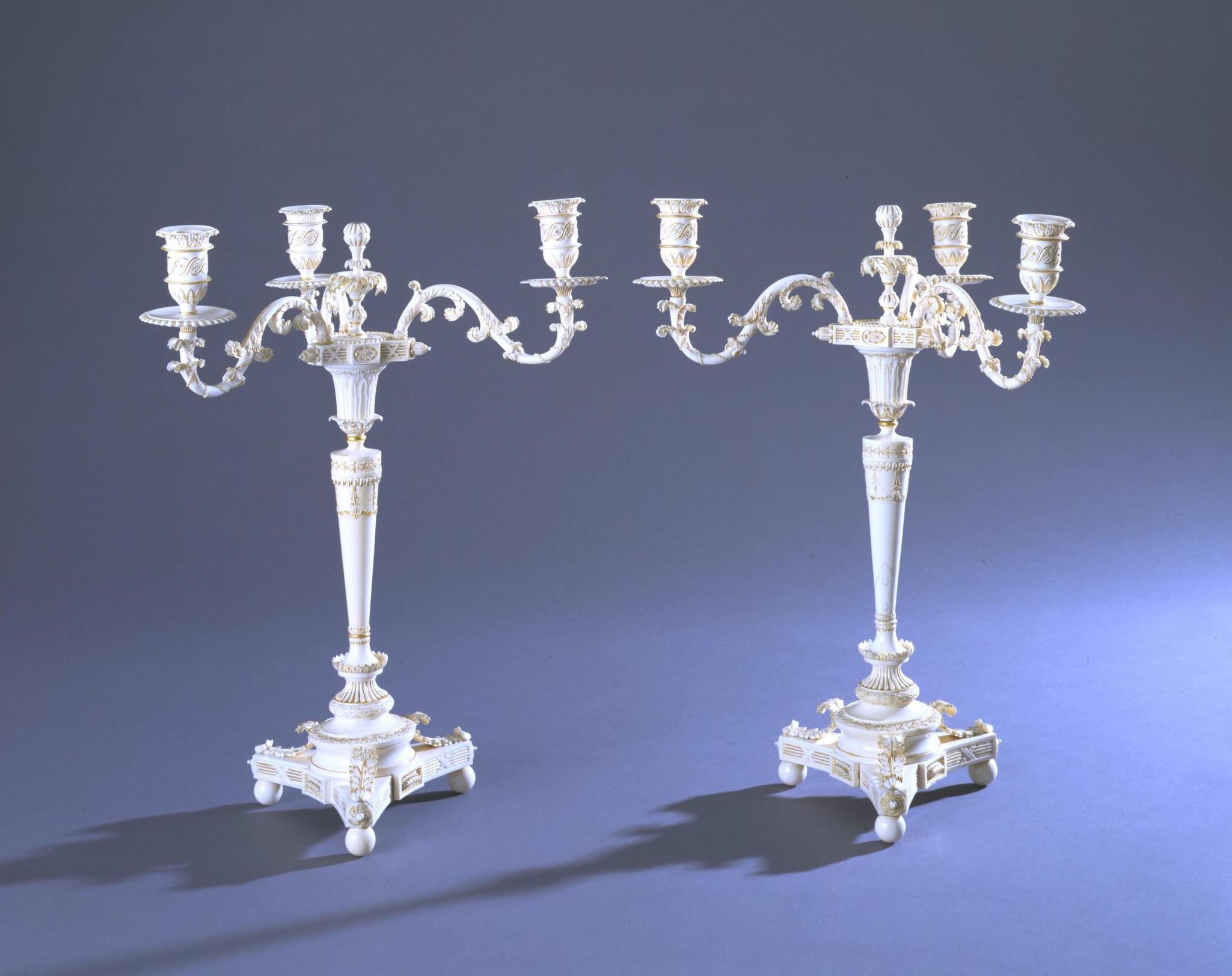 Candlestick Murshidabad, c. 1800  Credit: Victoria & Albert Museum