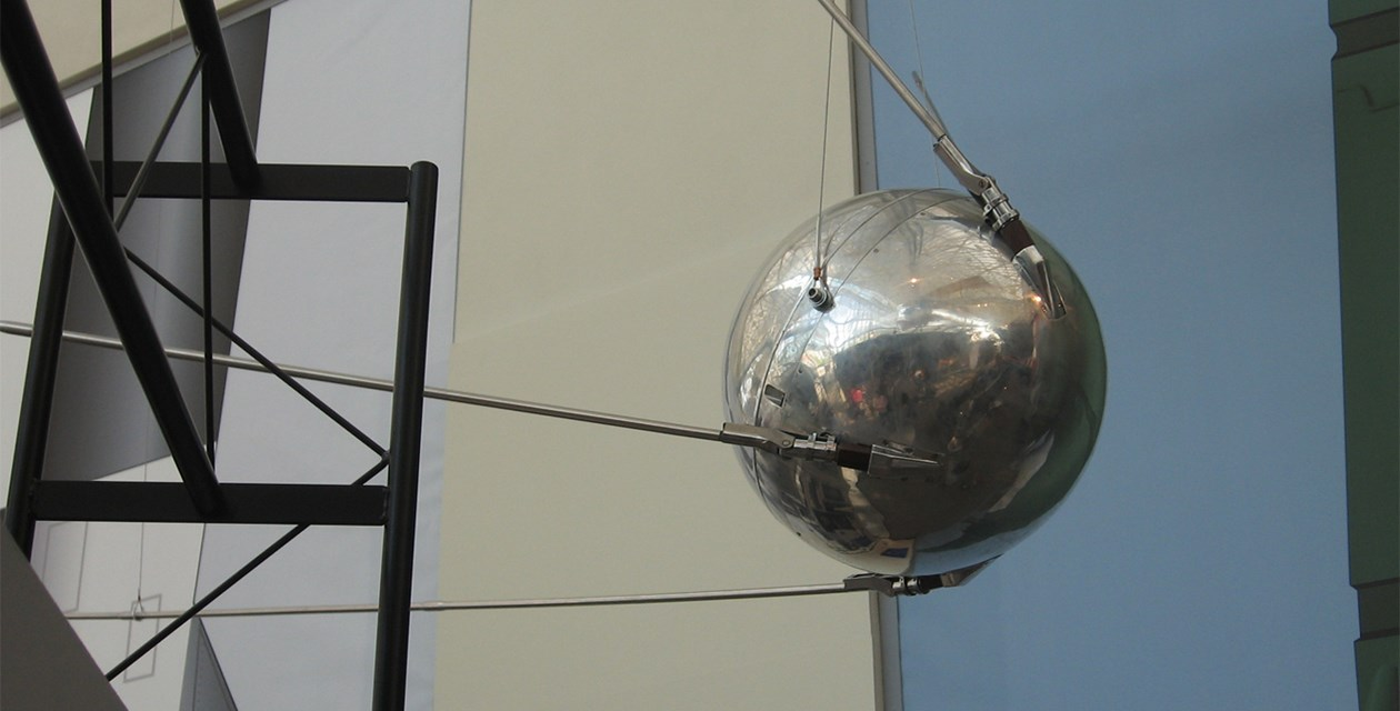 Sputnik 1 , Academy of Sciences of the USSR The Museum of Flight, 1956