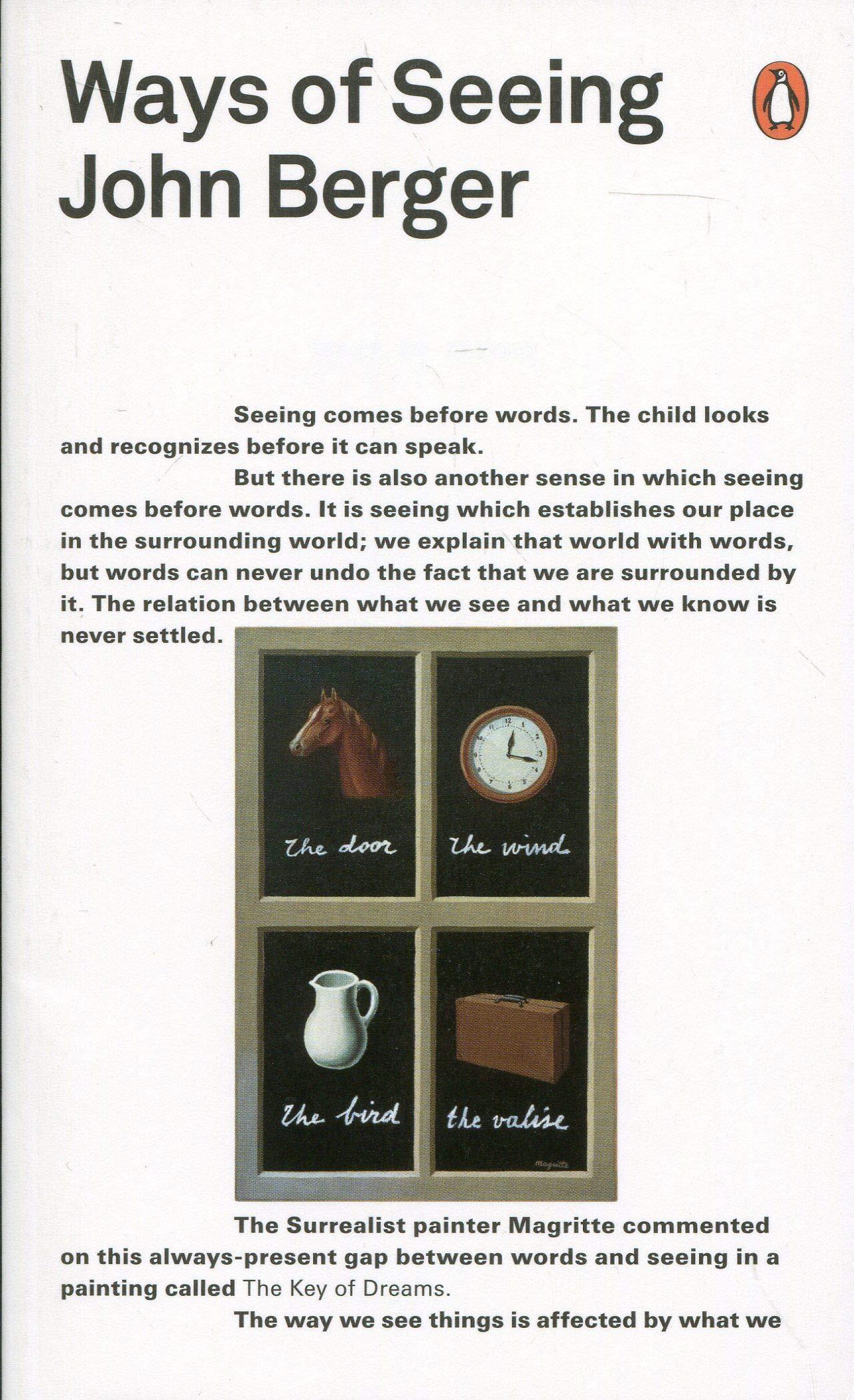 Ways of Seeing , John Berger