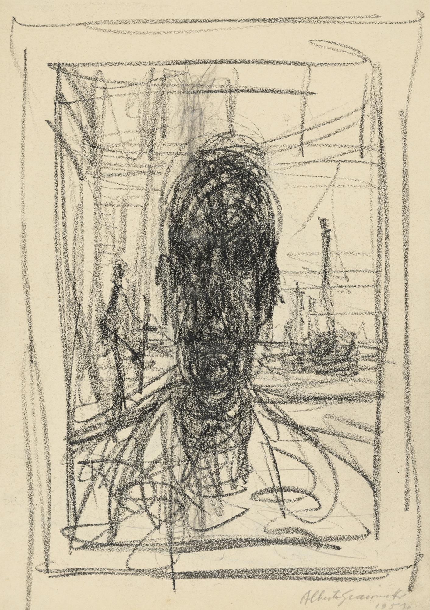 Portrait , Alberto Giacometti The Museum of Modern Art, 1951