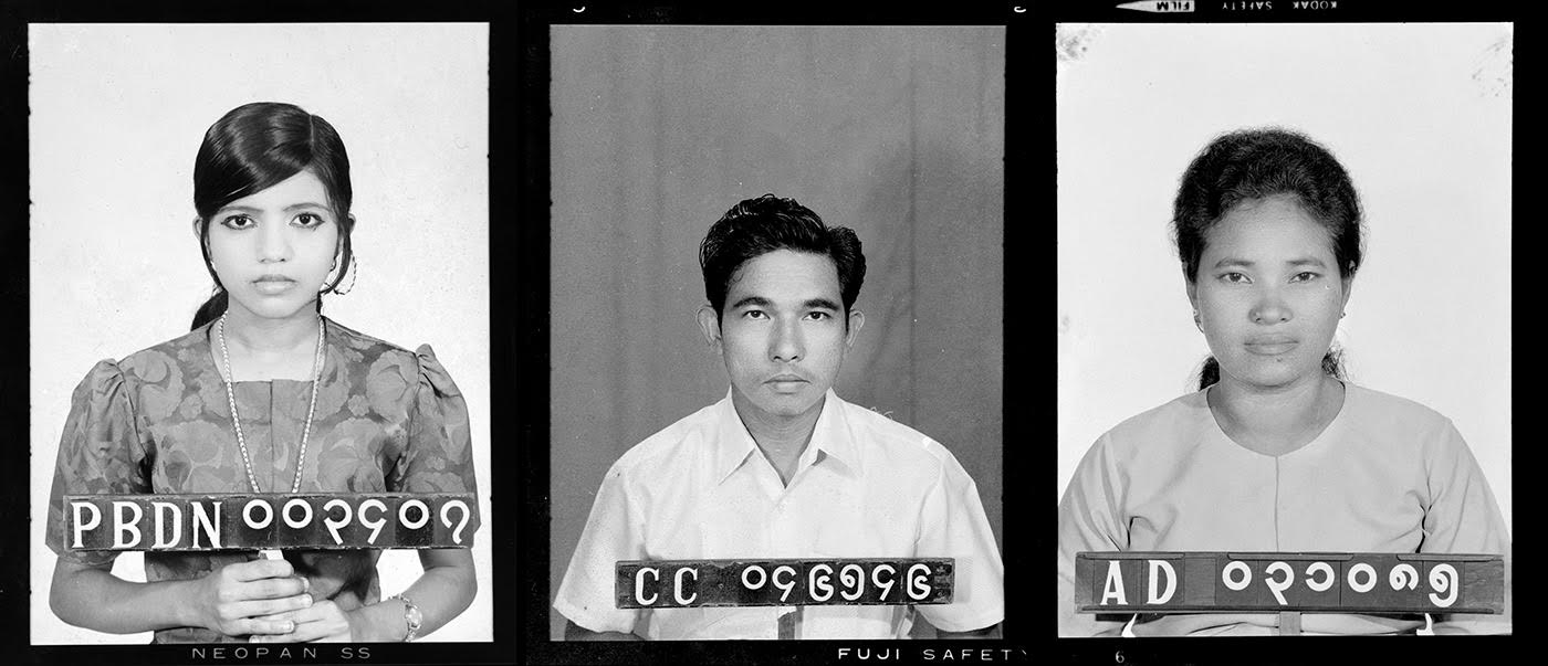 National Identity Card Photographs  Yangon, c. 1970s  Credit: Myanmar Photo Archive