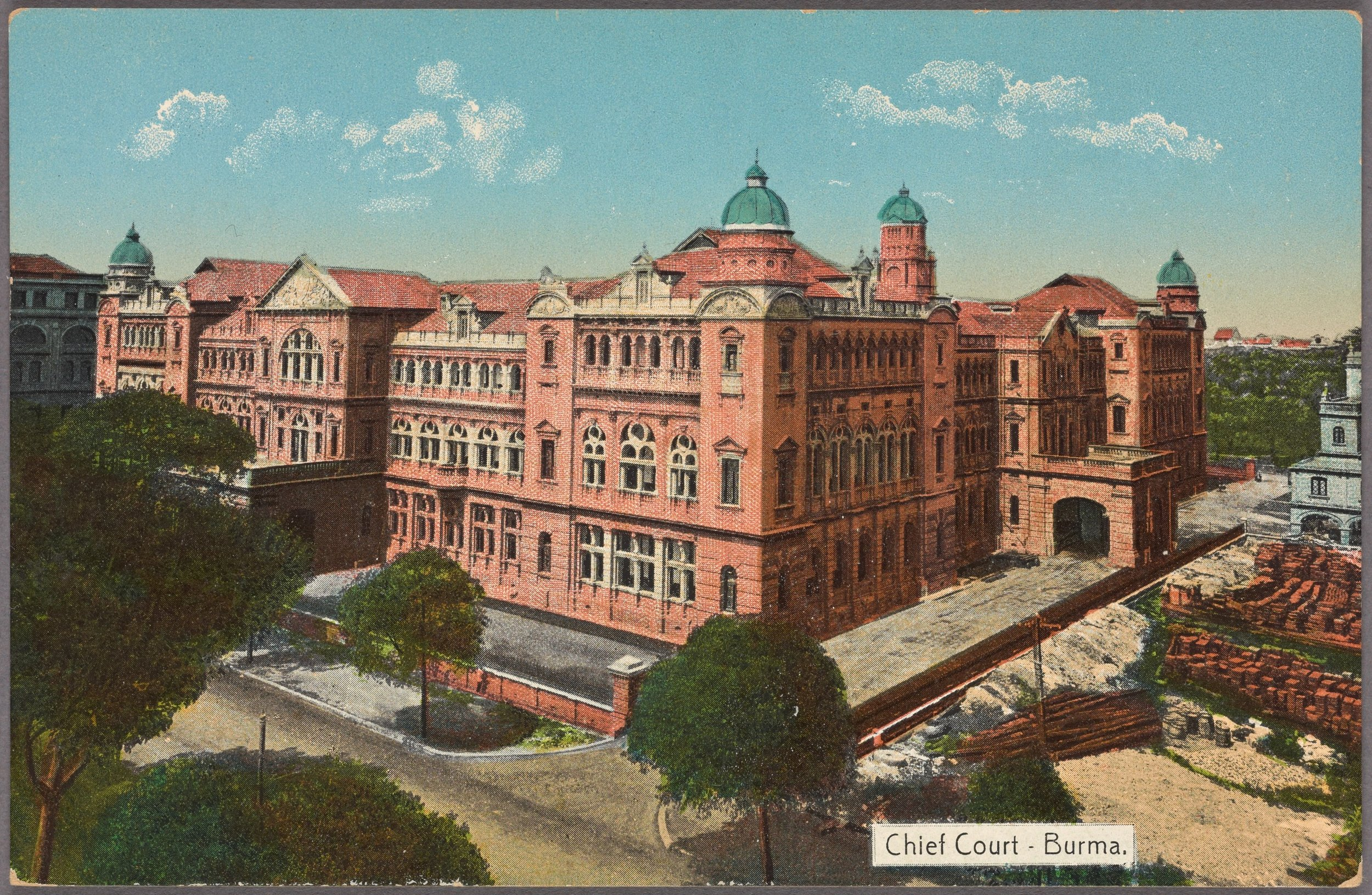 Chief Court, Burma , D.A. Ahuja New York Public Library, 1910