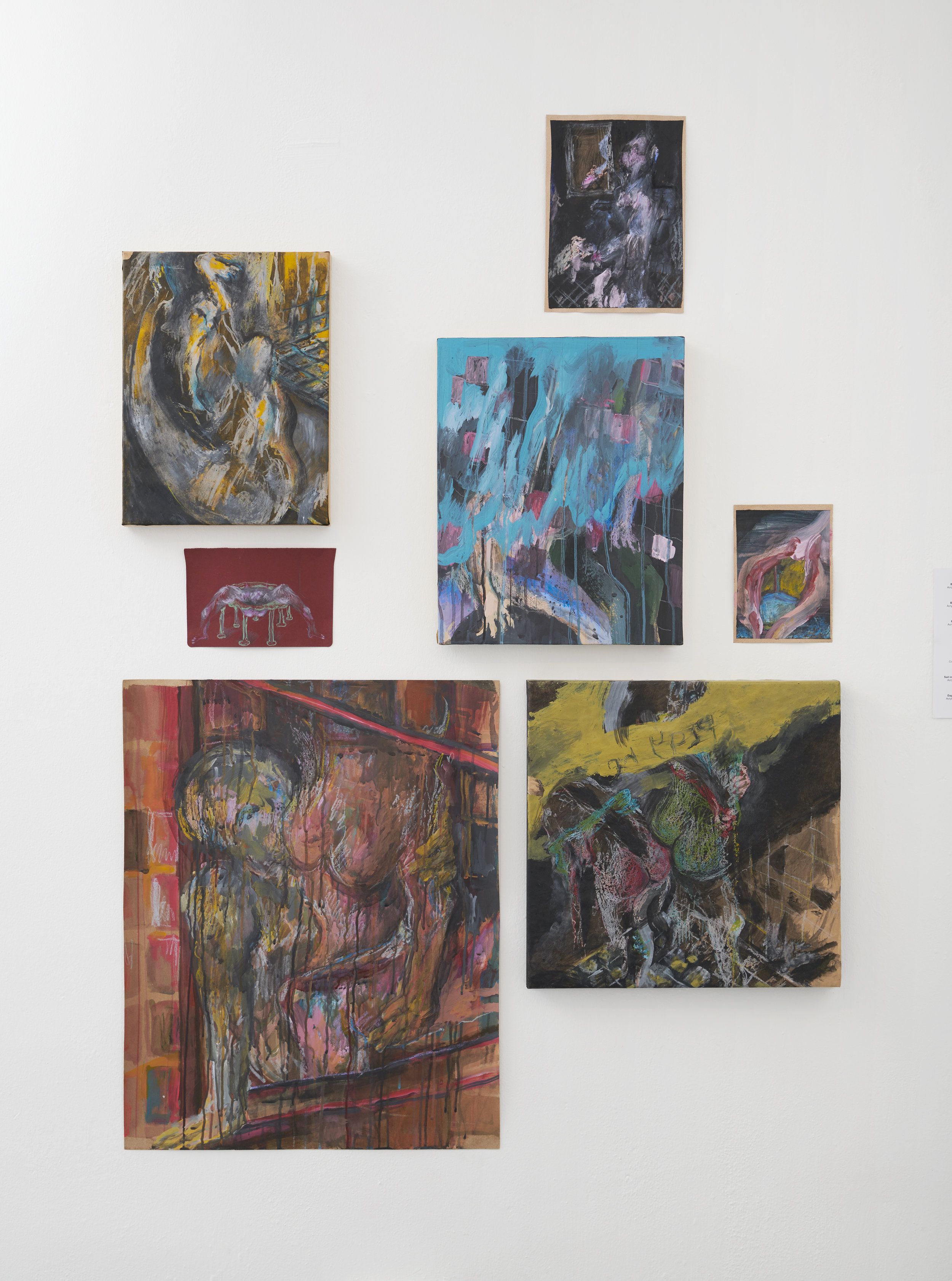 Various Works, Aisha Rosli 2018, Installation View at Coda Culture