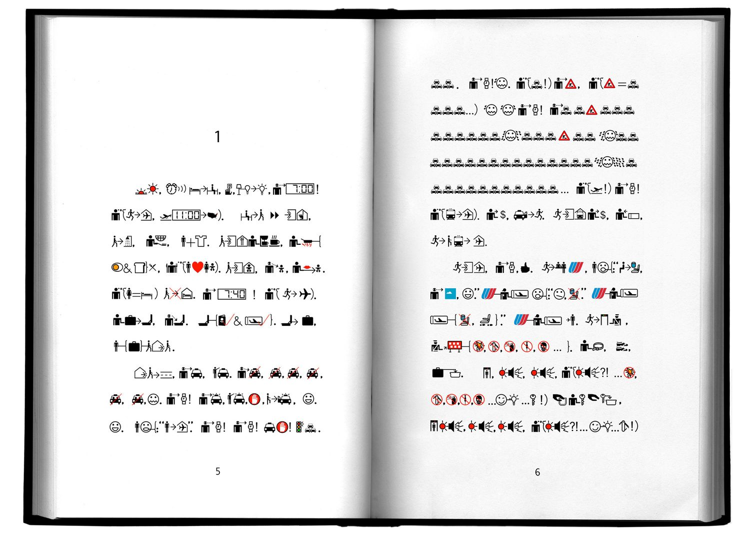 Book from the Ground , Xu Bing 2003-ongoing