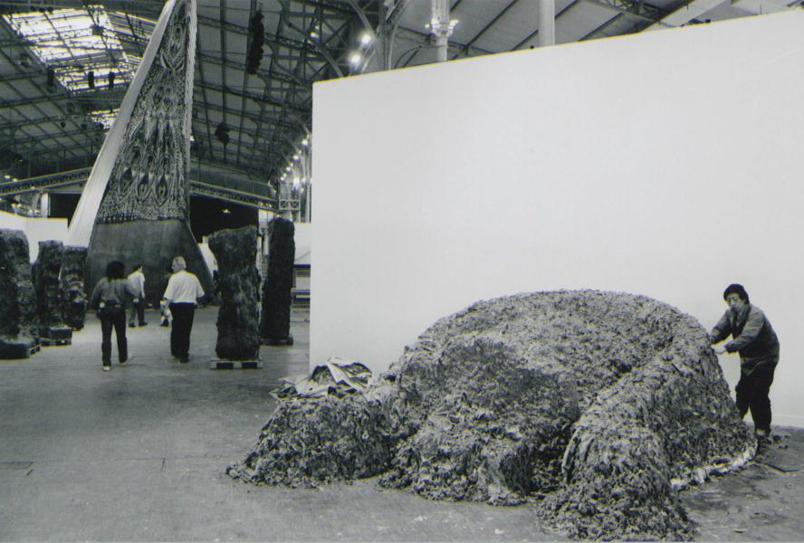 Reptiles , Huang Yong Ping   1989, Installation View at  Magiciens de la Terre   Credit: Asia Art Archive