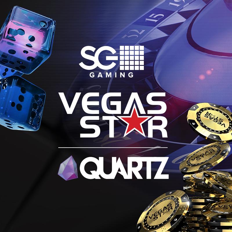 Brand Identity - Vegas Star Quartz  SG Gaming