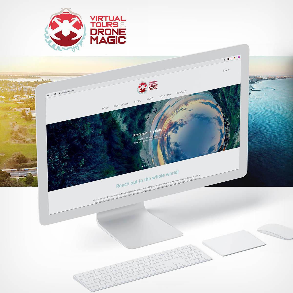 Website Design & Development  Virtual Tours & Drone Magic