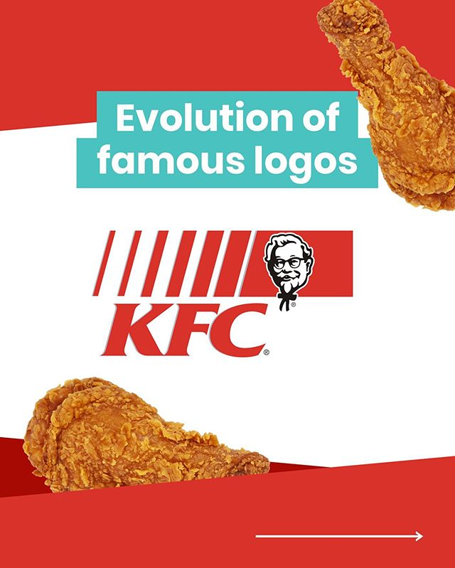 First part of a new series: Evolution of famous logos! We take a deep dive into the history of logos from big brands. Today it's KFC, one of the biggest food chains in the world.  Which one is your favourite? Let us know in the comments below           #brandevolution #famousbrands #topdesigns #branddesign #branddesigner #brandhistory #logoevolution #famouslogos #kentuckyfriedchicken #kfcchicken #logodesigner #logodesigners #logohistory #famousbrand #visualbrandidentity #visualdesign #visualdesigner #brandingidentity #brandingidentitydesign #welovebranding #designlogo #identitydesign