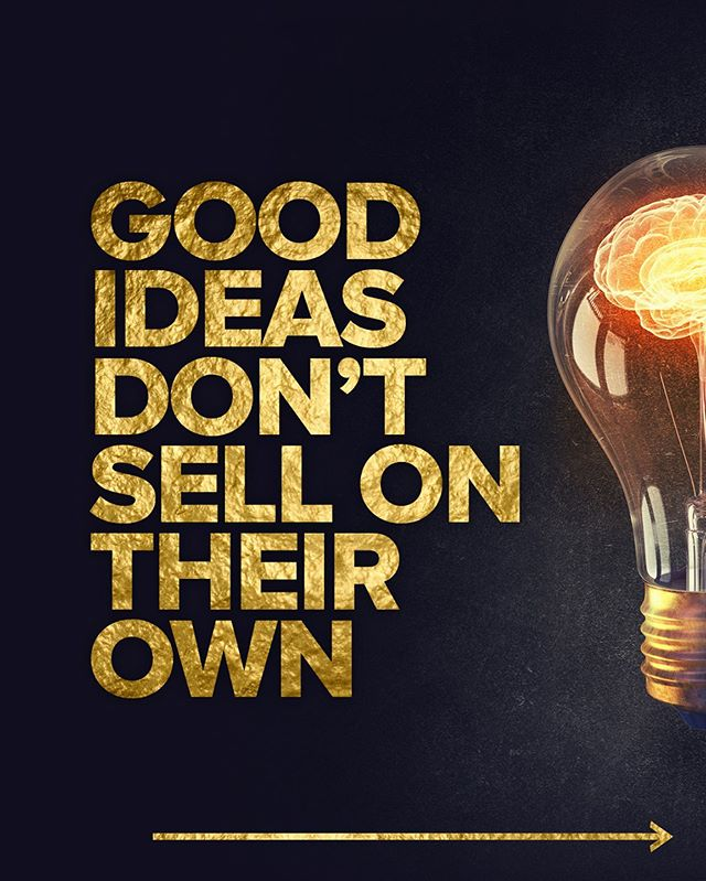 Good ideas don't sell on their own... 💡  You also need to execute the idea effectively to the right audience - a poorly executed idea won't resonate with your customers. An example of this would be promoting the right message but using the wrong demographic in your imagery, or using a phrase that they won't be able to relate with.               #smallbiztips #smallbusinesssydney #smallbusinessbranding #sydneysmallbusiness #smallbusinesstips #buildabrand #smallbizlove #smallbizmarketing #branddesign #branddesigner #branddesigns #branddevelopment #identitydesign #visualidentitydesign #visualidentity #execution #execute #effectivemarketing #smartmarketing