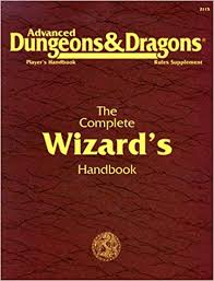 The AD&D ComPLETE wIZARD'S hANDBOOK WAS WRITTEN BY rICK sWAN AND RELEASED IN 1990.