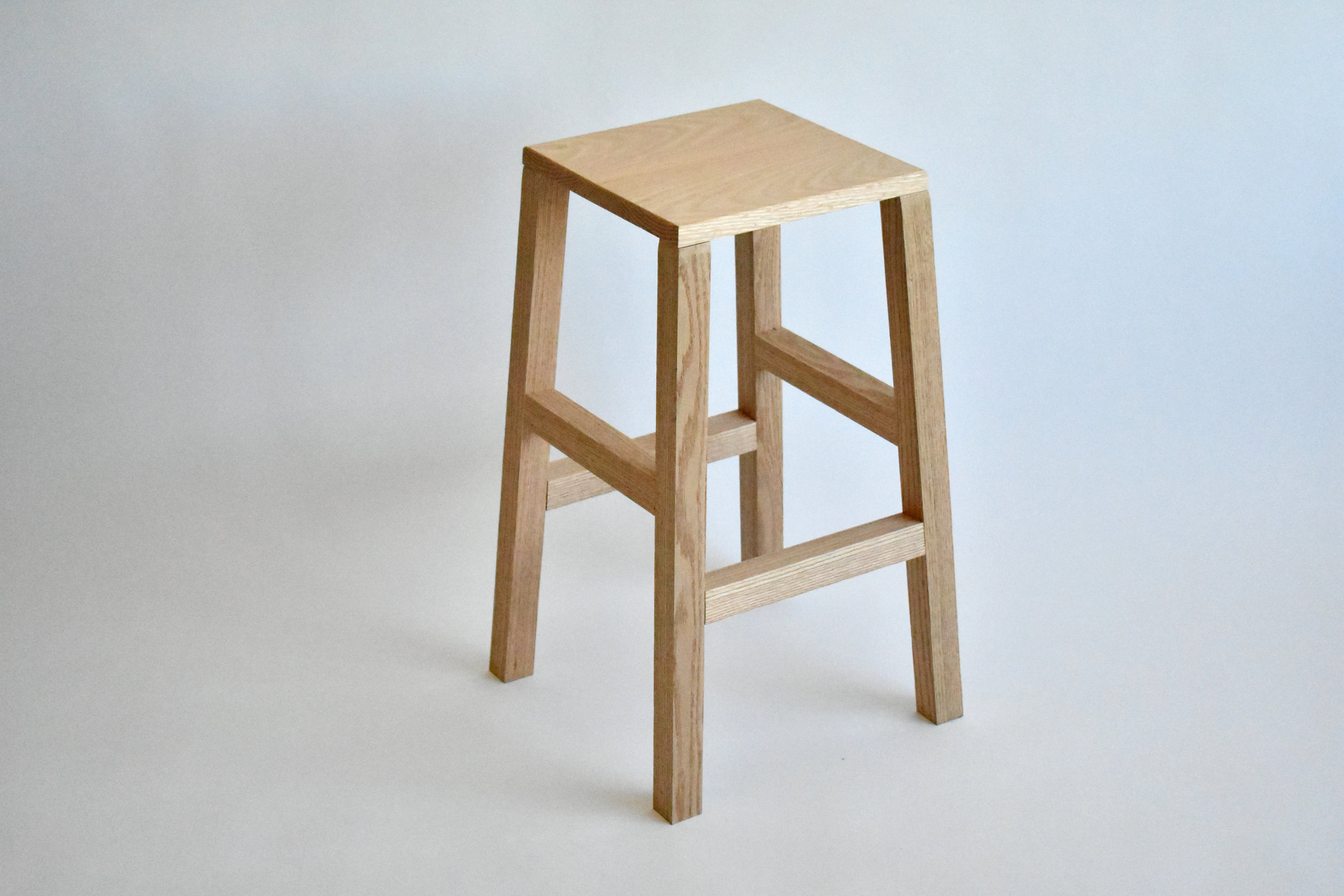 Element Solid Oak Stool