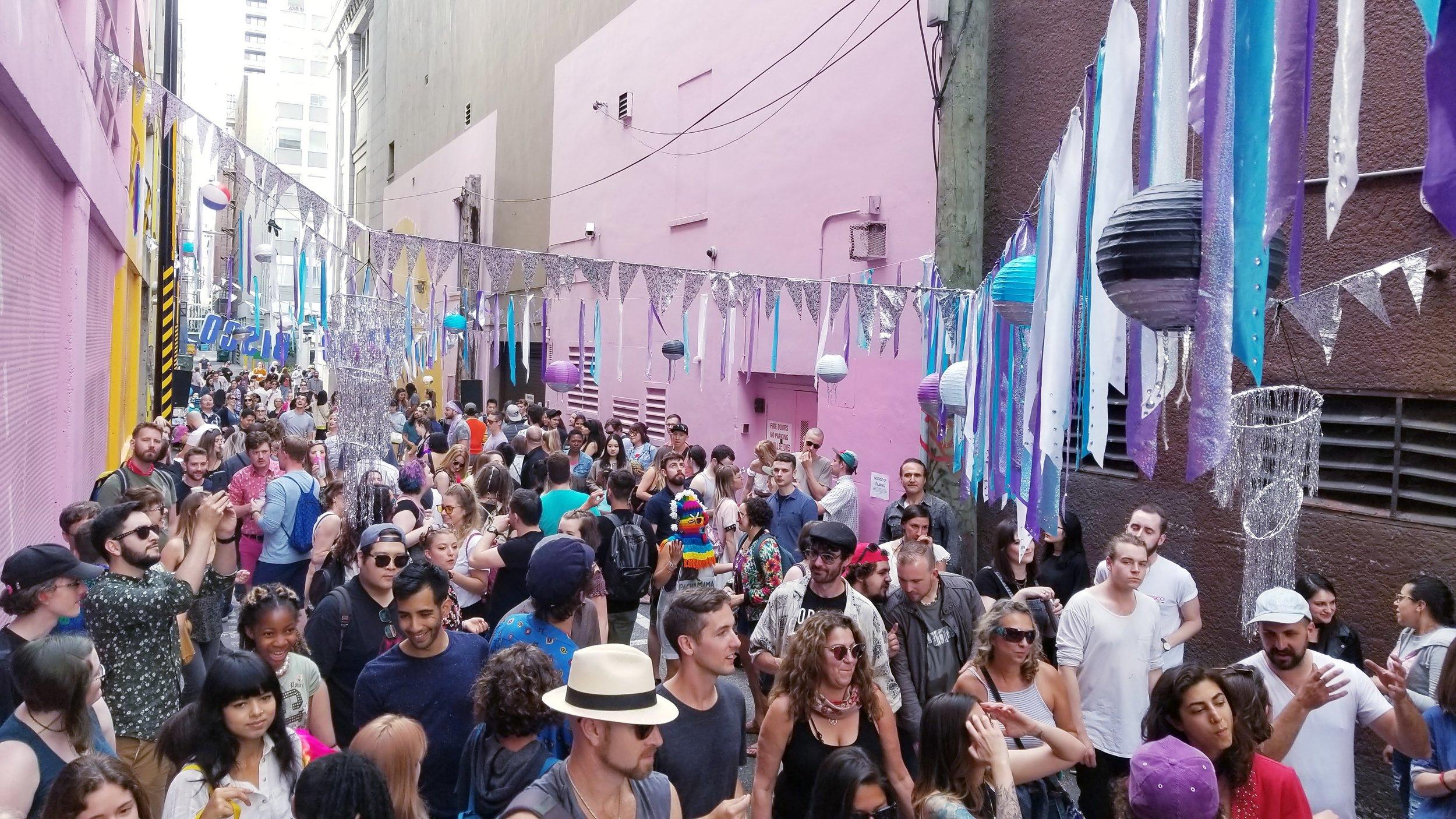 Public Disco at Alley Oop