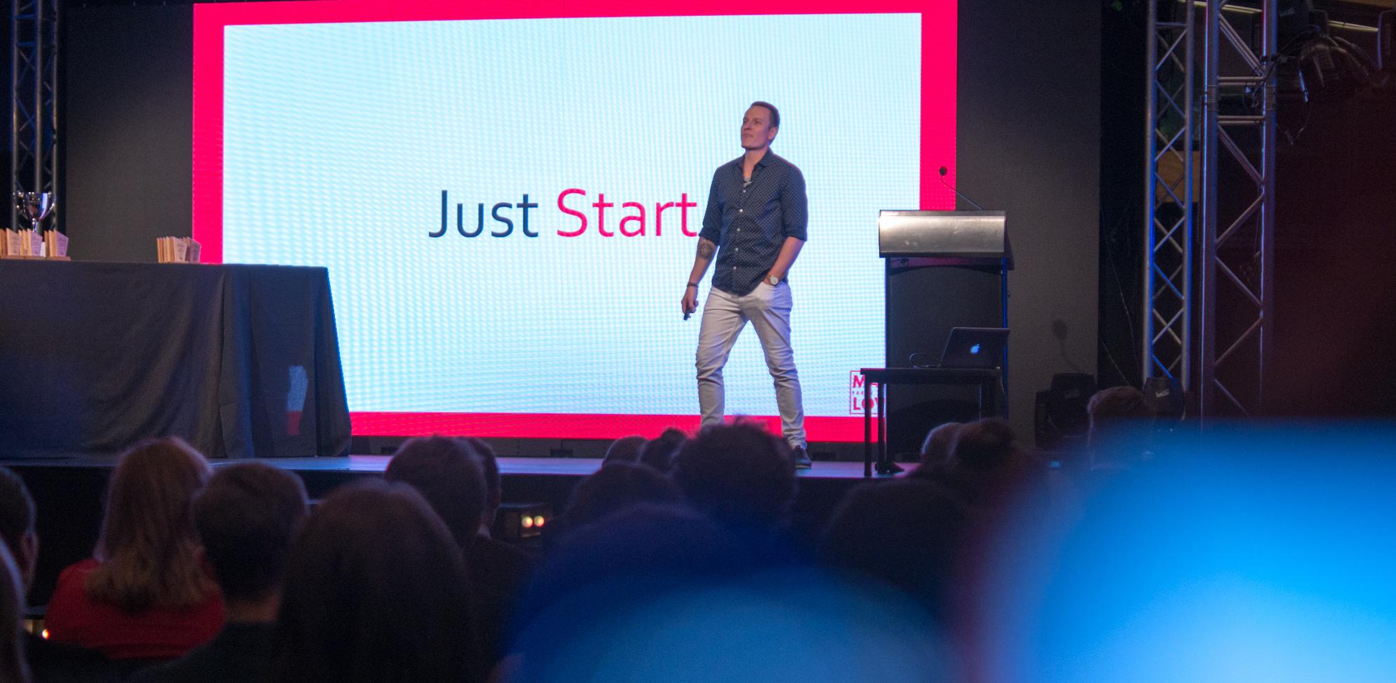 Matty Lovell - Just Start