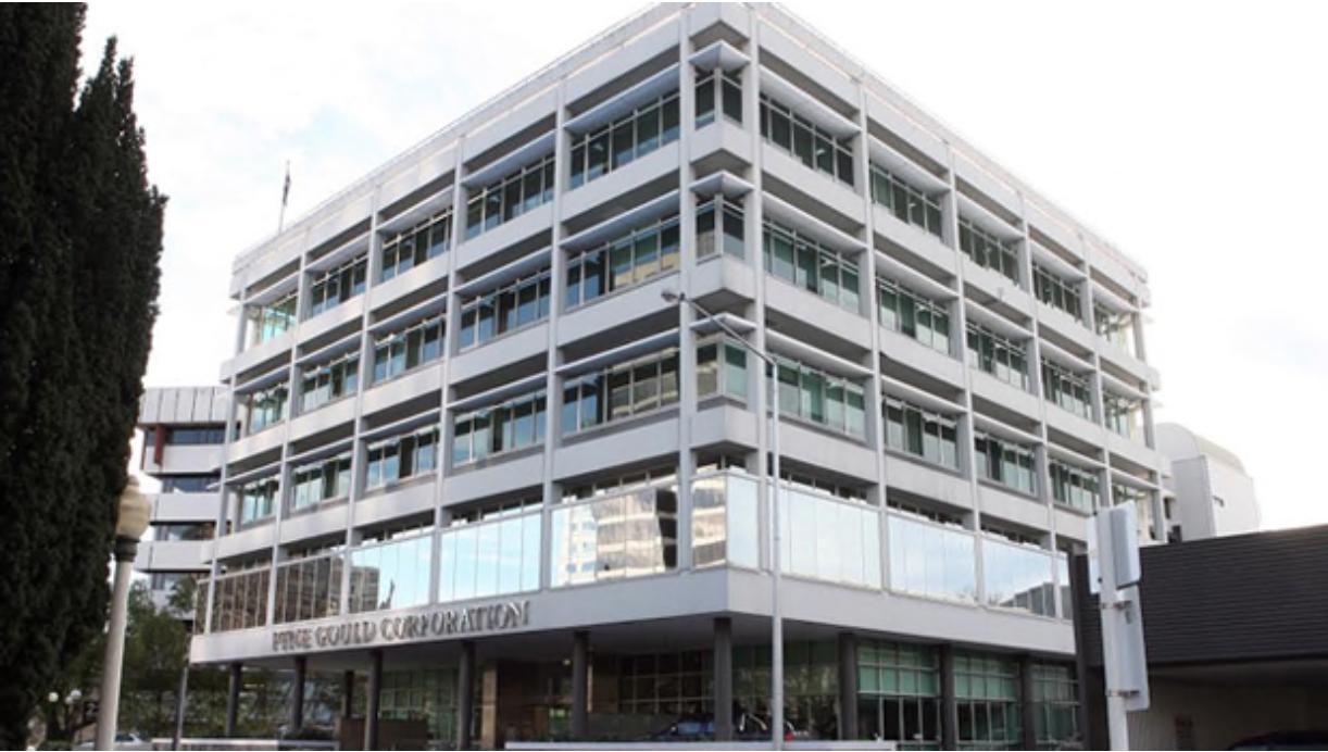 The PGC building Pre Quake