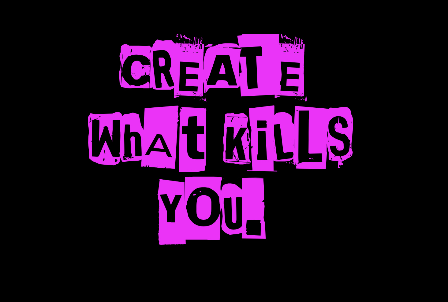 Create what kills you - It looks like change is everywhere, but at the same time nowhere. If oldschool innovation doesn't work anymore and competition comes from everywhere, we need other tools to come up with the next big thing.Radical Design is not just about creating an object, or a service, but about truly diving into an experience.