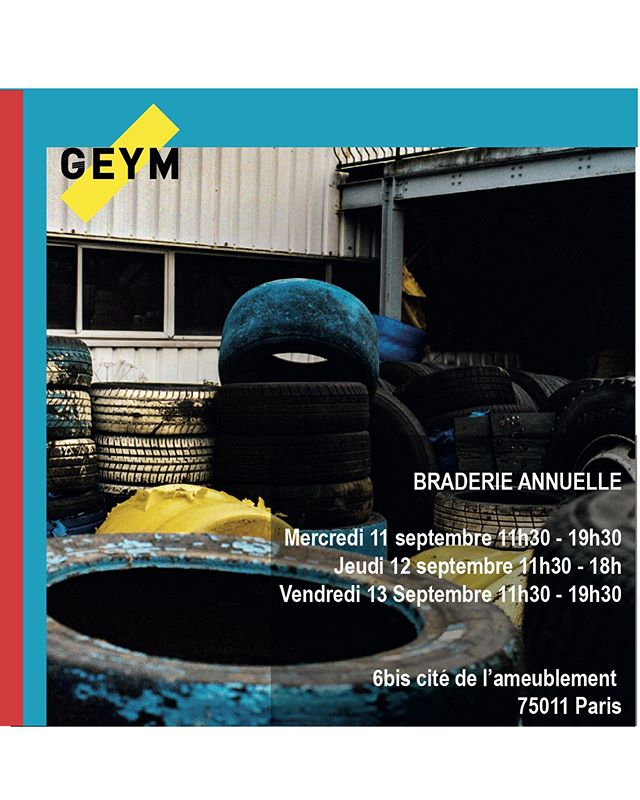 Tomorrow start our private sales, we hope to see you all there 🌈 You can find us at 6 bis cité de l'ameublement, 75011 Paris until 19h30 #GEYM #GoEstYoungMan #privatesales #parisfashionweek #parisstyle #streetwear #menswear #mensfashion #workwear #archives
