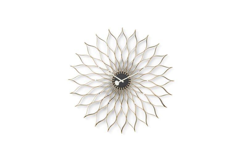 Sunflower Clock Birch - Vitra   SPACE FURNITURE