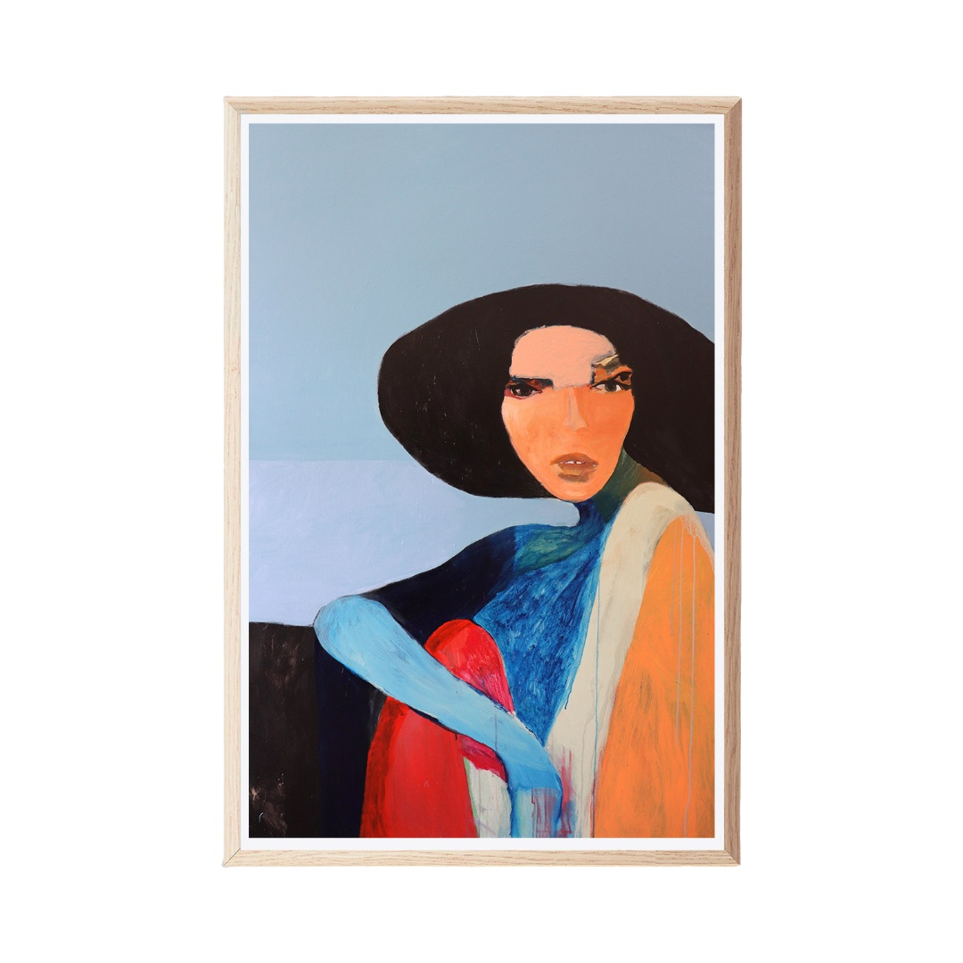Print by Stacey Rees   MODERN TIMES